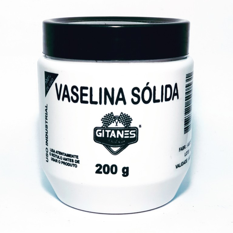 VASELINA SÓLIDA (INDUSTRIAL) – 200G